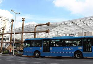 A partir del lunes 27 de abril, ningún usuario podrá ir de pie en los buses del MIO