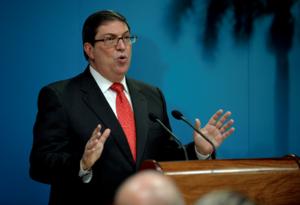 Bruno Rodríguez, canciller de Cuba