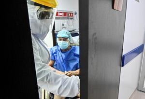 Coronavirus en Colombia / pacientes contagiados en Colombia