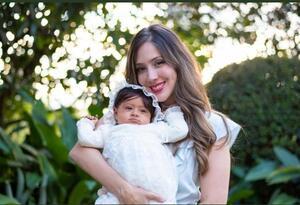 Diana Osorio y su hija Aleia.