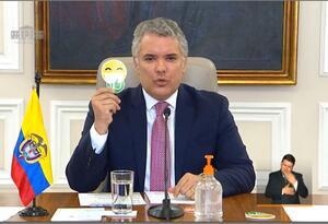 Duque presenta campaña Colombia Arranca Segura