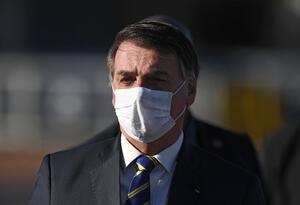 Jair Bolsonaro, presidente de Brasil / Coronavirus en Brasil