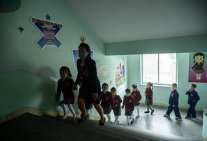 Regreso de niños a colegios / Coronavirus en Corea del Norte
