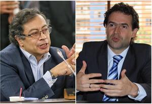 Gustavo Petro y Federico Gutiérrez