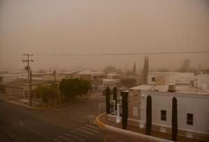 Remolino de viento en México