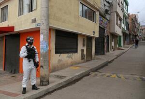 Cuarentena en Bogotá / coronavirus en Bogotá