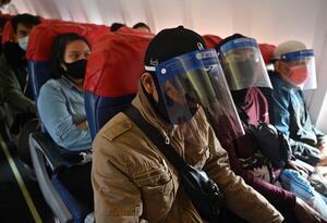 Vuelos en medio de pandemia