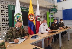Consejo de seguridad en Venecia, Antioquia