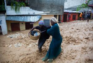 Huracán Laura en Haití
