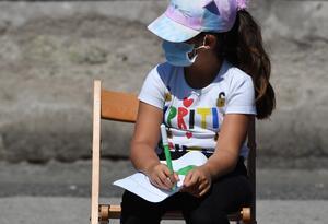 Regreso de niños a colegios - Coronavirus en Italia