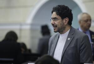 Iván Cepeda, senador del Polo Democrático