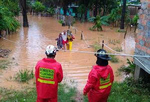 900 familias afectadas