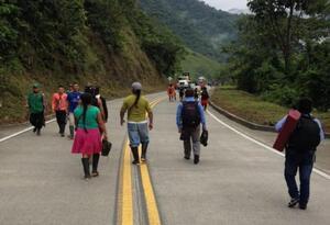 Vía Panamericana Risaralda - Chocó