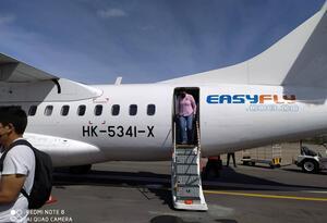 A finales de agosto se podría realizar el primero vuelo piloto entre Lebrija y Rionegro