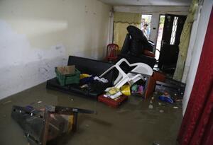 Lluvias causan emergencias en el departamento.