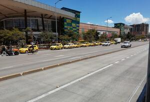 Taxistas en pandemia
