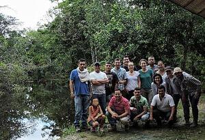 Habitantes del GUaviare formalizando su conocimiento de especies
