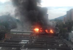 Incendio en Itagüí, Antioquia