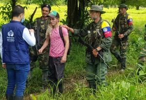 Así fue la liberación de Anderson Arcila Ocampo