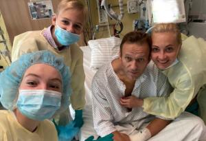 Alexéi Navalni se recupera en Berlín