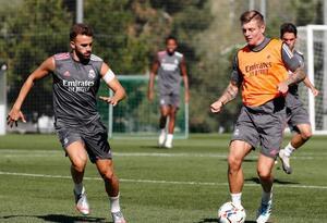 Regresan los entrenamientos del Real Madrid