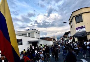 Protesta en Pereira