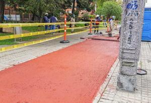 Ciclorutas de Bogotá tendrán pavimento pigmentado