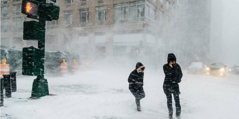 Tormenta de Nieve EE.UU.