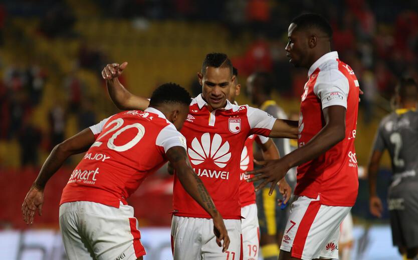 Santa Fe derrota a Medellín en El Campín