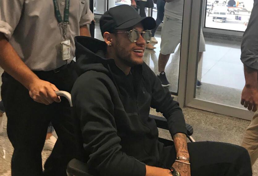 Neymar en Brasil