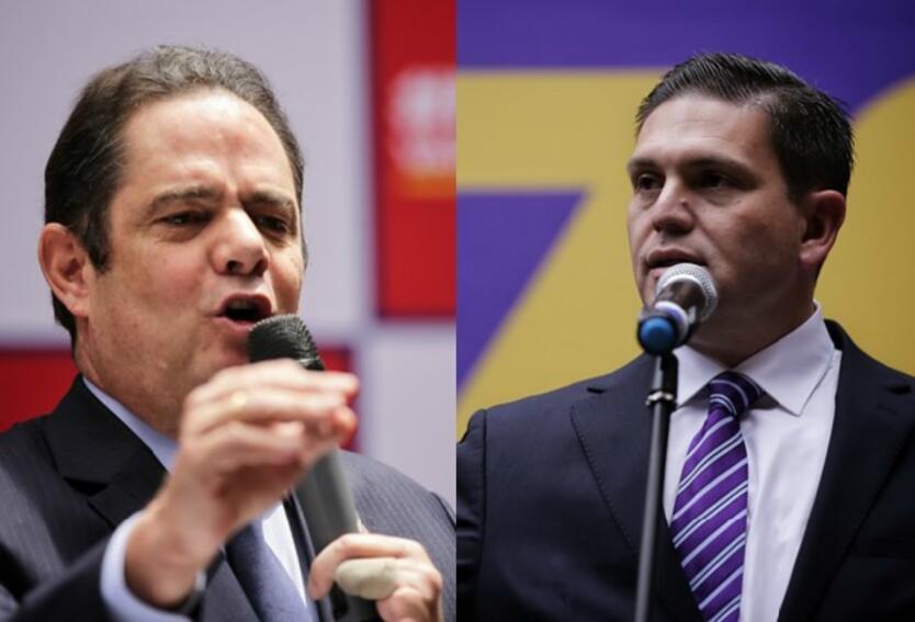 Germán Vargas Lleras y Juan Carlos Pinzón Colprensa