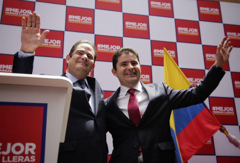 Vargas Lleras y Luis Henao