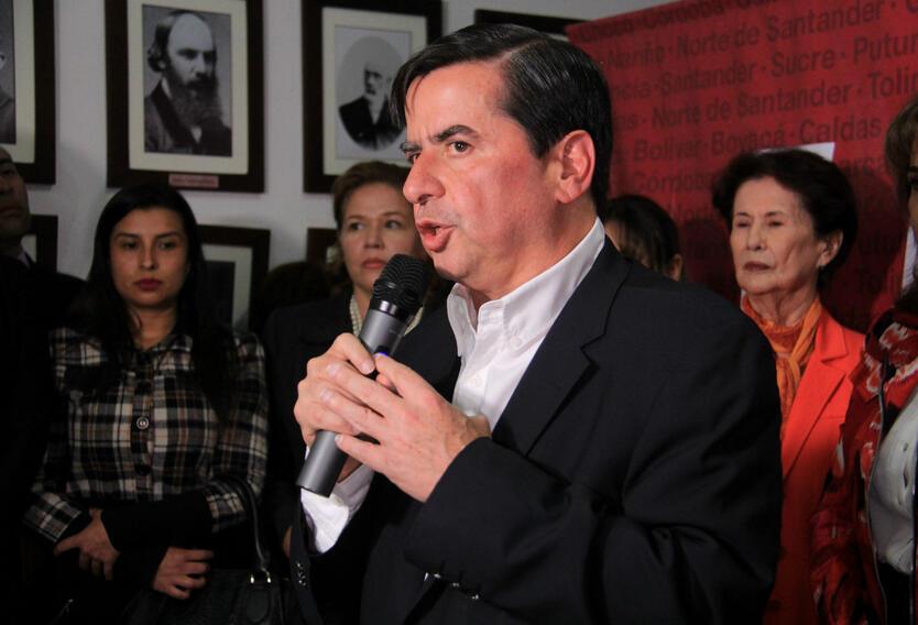 Juan Fernando Cristo, ex ministro del Interior