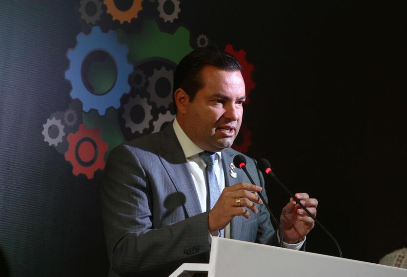 Didier Alberto Tavera Amado, gobernador de Santander