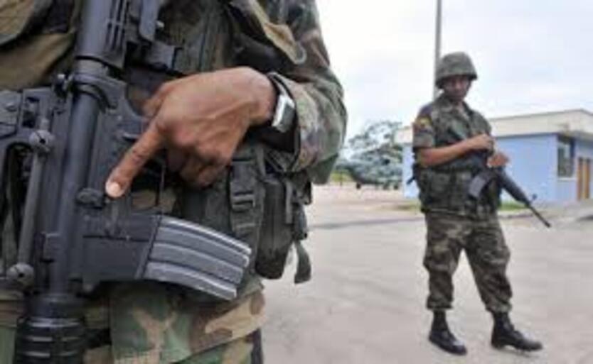 Militares Ecuador.