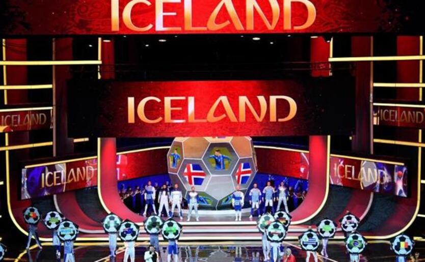 Islandia en el Mundial.