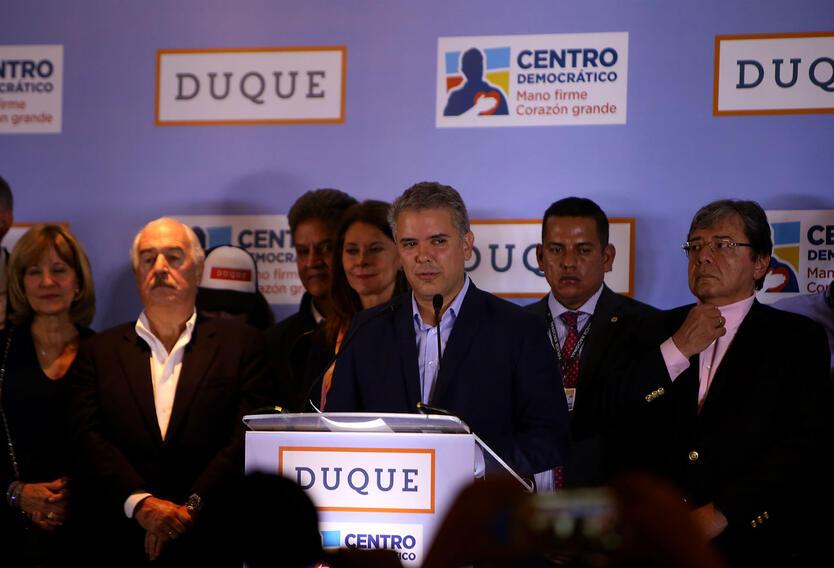 Iván Duque se proclamó ganador de la consulta interpartidista