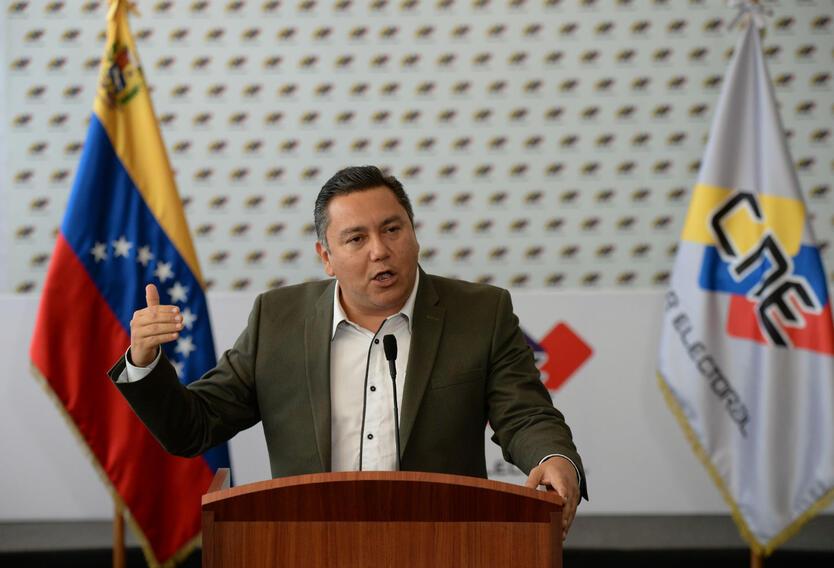 Javier Bertucci, candidato presidencial en Venezuela