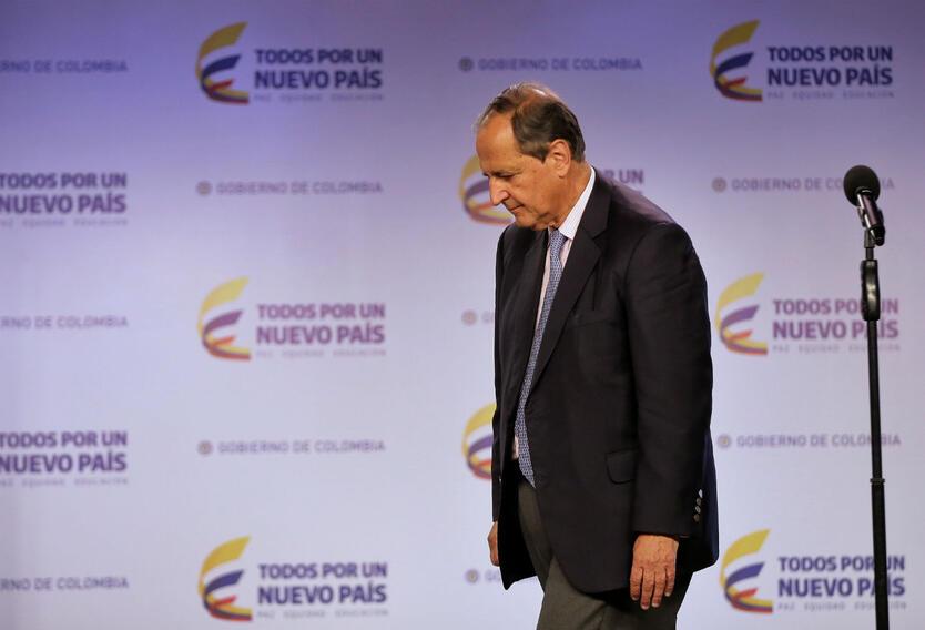 El exministro Juan Camilo Restrepo