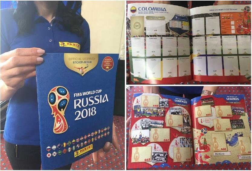 Este es el álbum oficial del Mundial de Rusia