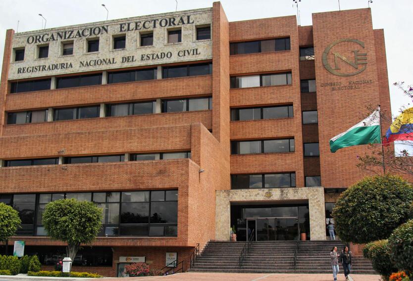 Fachada Registraduría Nacional del Estado Civil