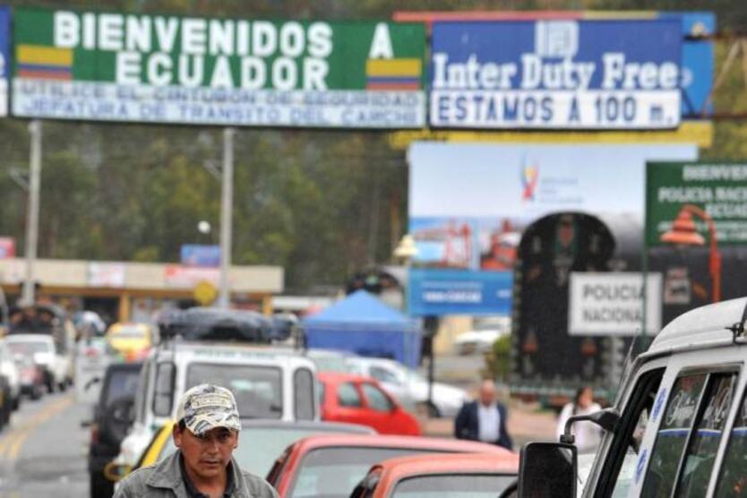 Frontera Ecuador.