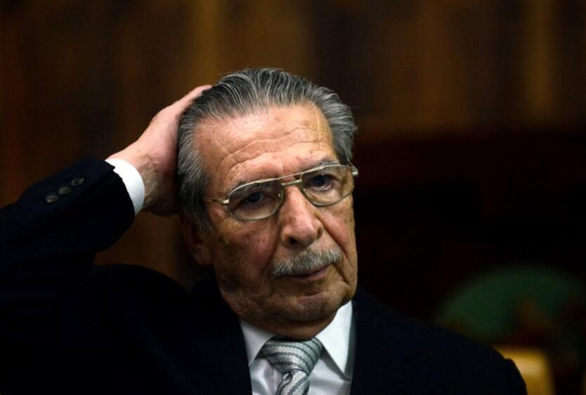 Efraín Ríos Montt, expresidente de Guatemala