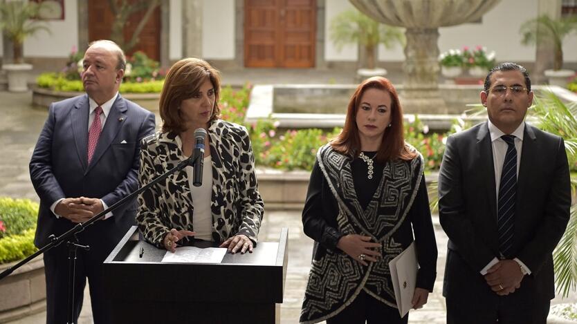 Autoridades Colombia y Ecuador.