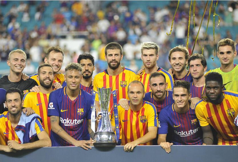 Barcelona en la Championships Cup