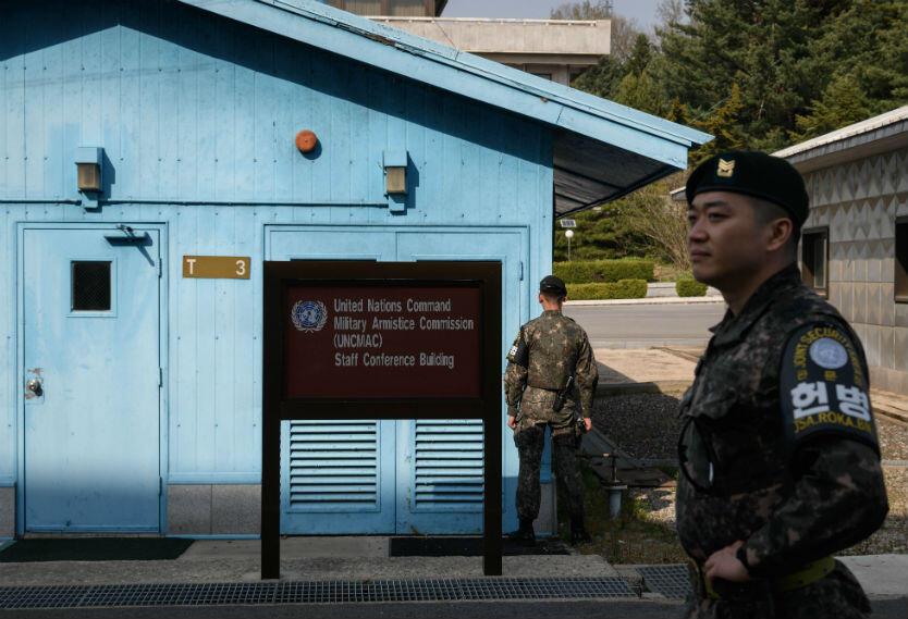Coreas frontera
