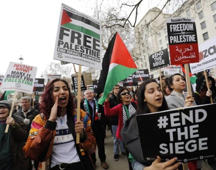 Estallan nuevos enfrentamientos en la frontera de Gaza con Israel