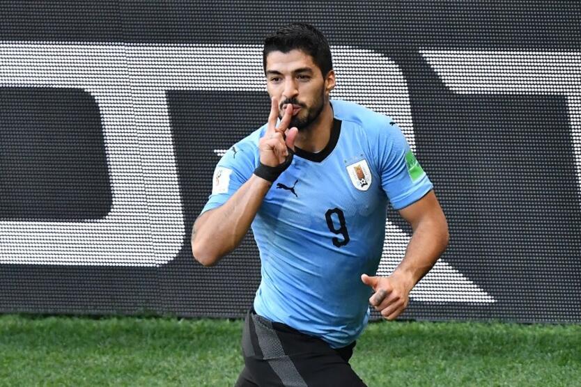 Delantero uruguayo Luis Suárez
