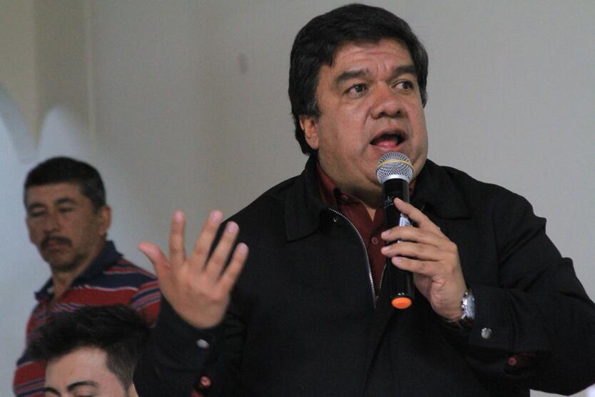 Alcalde de Bojacá Juan Carlos Gaitán