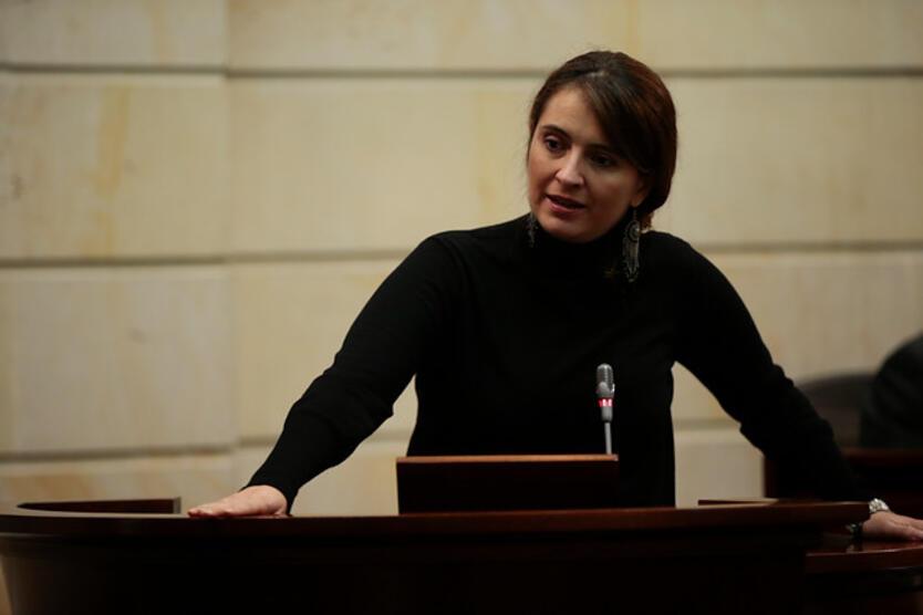 La senadora del Centro Democrático, Paloma Valencia.